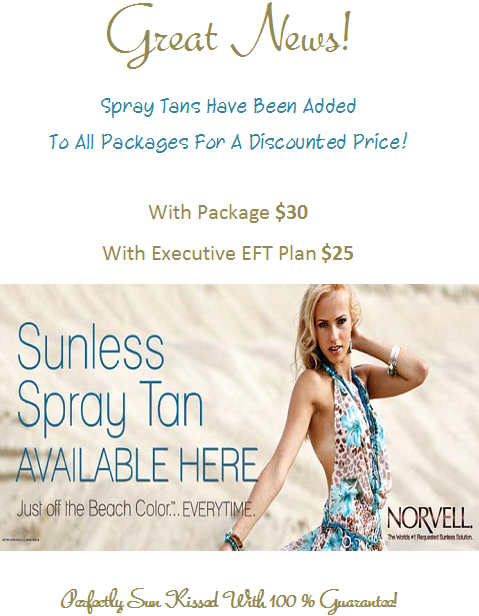 Spray Tan Sale